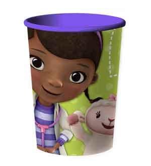 Disney Doc McStuffins 16 oz. Souvenir Cups 12 Pack]()