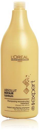 L'Oréal Paris Serie Expert Absolut Repair Lipidum Shampoo, 1er Pack (1 x 1,5 l)