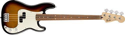 Fender Standard Precision Electric Basse électrique - Touche Pau Ferro, Brown Sunburst