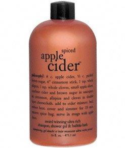 Philosophy Spice Apple Cider 3-in-1 Shampoo, Bath & Shower G