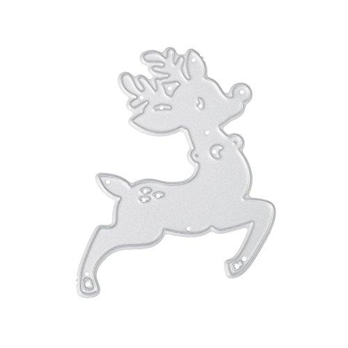 Merry Christmas Metal Cutting Dies Stencils Scrapbooking Embossing DIY Crafts by Topunder H]()