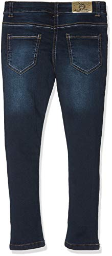 3 Pommes, Jeans para Niñas Azul (Navy Blue 49)