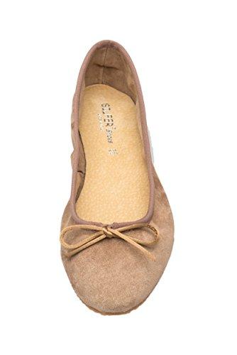 Cipria para Bailarinas Silfer Shoes Mujer Beige Cipria w17vRqO4