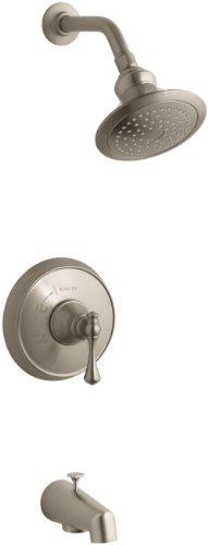 Af Revival Shower Faucet - KOHLER K-T16113-4A-BV Revival Rite-Temp Pressure-Balancing Bath and Shower Faucet Trim, Vibrant Brushed Bronze