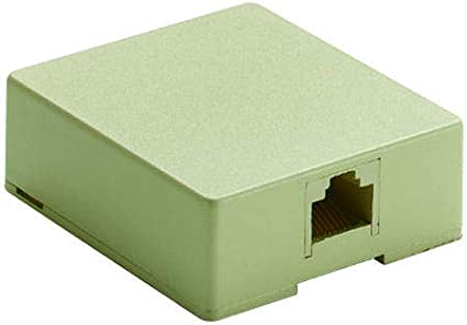 1 x 1 Port 4 Contacts, Modular Connector 30-8609-BU Pack of 20 Connection Box