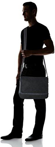 Tom Tailor Denim - Lars, Shoppers y bolsos de hombro Hombre, Schwarz, 11x25x36 cm (W x H D)