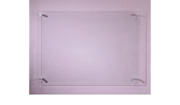 Clear Glass Dry Erase Board 17 34 X 23 58 45 X 60 Cm By