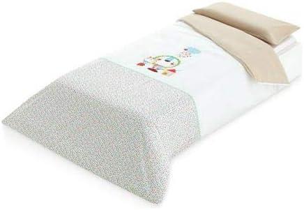 Pirulos 49900000 - Bajera, algodón, 90 x 200 cm, color lino ...