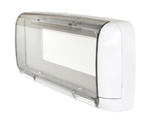 Dual Electronics SG3 Transparent Waterproof Marine Splashguard Radio Housing Unit Single DIN
