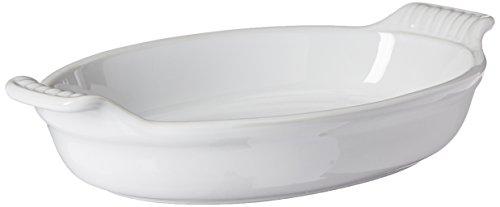 Le Creuset PG0400-2416 1 Qt. Au Gratin Dish-White, 1 Quart