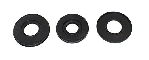 Crank Shaft Oil Seal Kit Compatible with Kawasaki 900 1100 STS STX ZXI DI Ultra 130 DI 900 1100 OEM# 009-902T/ - Oem Crankshaft Kawasaki