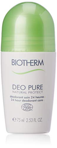 (Biotherm Deo Pure Natural Protect 24 Hours Deodorant Care Roll On for Unisex, 2.53)