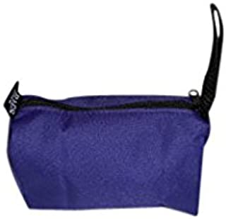 product image for Toiletry or shaving kit holds all your essentials,cosmetic bag Made in USA. (Purple)