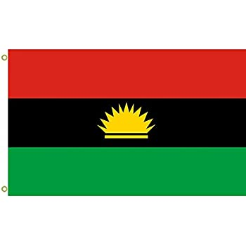 Amazon large flag biafra flag outdoor flag flying flag 3x5ft large flag biafra flag outdoor flag flying flag 3x5ft banner thecheapjerseys Images