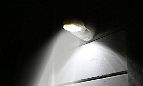Gpct Motion Sensor Activated Cordless 7 Led Bulbs 360