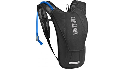 CamelBak HydroBak Crux Reservoir Hydration Pack, Black/Graphite, 1.5 L/50 oz ()