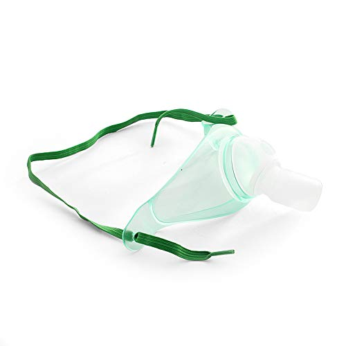 MediChoice Tracheostomy Masks, Without Tubing, w/Adjustable Strap, Adult, Clear, 1314RSP2010 (Case of 50)