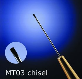 Micro Chisel Tip (EMS 62091-03-50 Micro Tool, #3 Size, 0.50 Tip, Micro-Chisel)