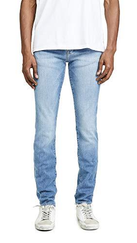 (FRAME Men's L'Homme Skinny Bastille Blast Denim Jeans, Bastille Blast, Blue,)
