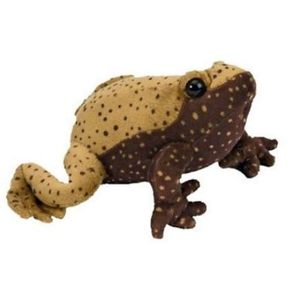 7 inch Eastern Narrowmouthed Toad Stuffed Animal Sound All - Wolf Dolls Family Monster High