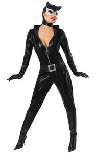 Secret Wishes Batman Sexy Catwoman Costume, Black, -