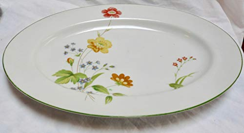 Castlecourt April Flowers Fine China 12.5