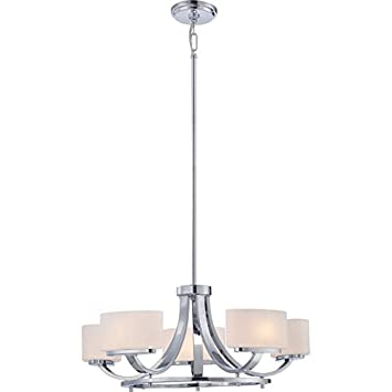 Illumina Direct TST0957A Dunnell 5-Light Chandelier, Polished Chrome