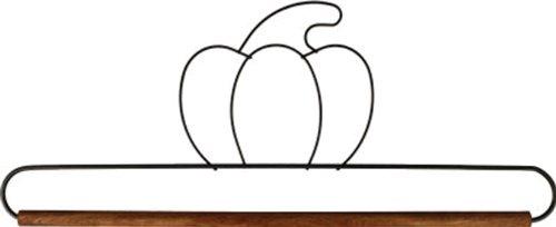 Ackfeld Fabric Holder with 12 Inch Dowel- Pumpkin -