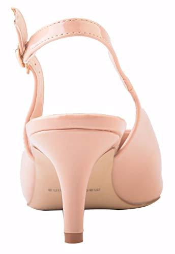 Scarpe Pu Tacco Patent Hb1674 Donna Col Camssoo 1uk Nude U6wSSxH