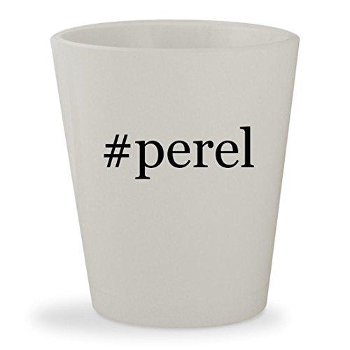 #perel - White Hashtag Ceramic 1.5oz Shot - Andora Thong