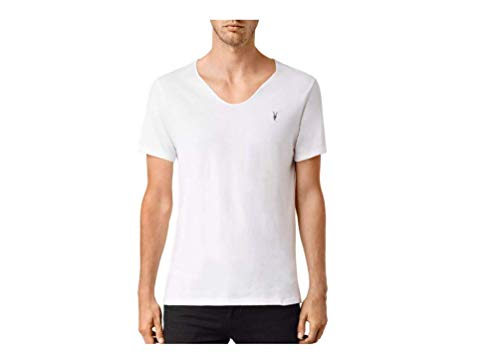 AllSaints Tonic Scoop Tee (White, XS) from AllSaints