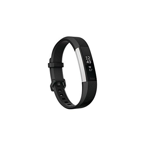 Fitbit Monitor de Actividad Alta, color Negro, Grande