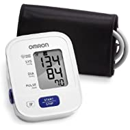 Omron 3 Series Upper Arm Blood Pressure Monitor with...