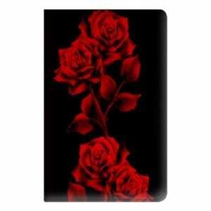 fleur rose rouge