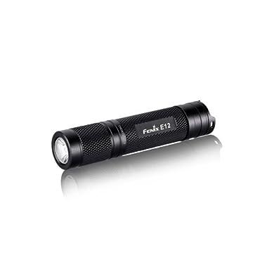 Fenix Flashlights E12 130-Lumen Flashlight, Black