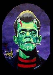 Artista Ben Von Strawn Franken-plataforma fpso Rockabilly adulto ...
