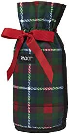 PackIt Freezable Drawstring Holiday Flannel product image