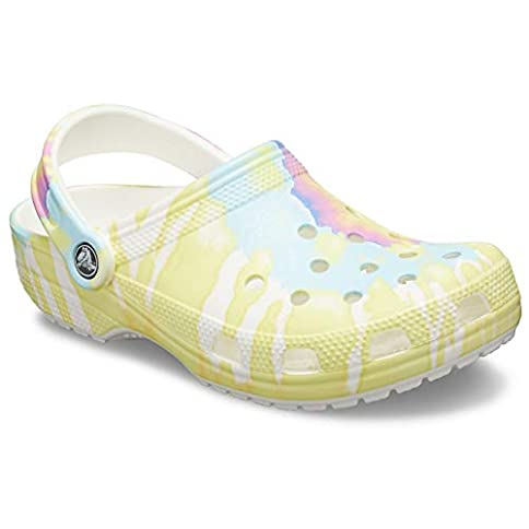 - 31W 03lmJZL - Crocs Men's and Women's Classic Tie Dye Graphic Clog | Comfort Slip On