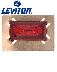 - Leviton 406-GR .406 x .925