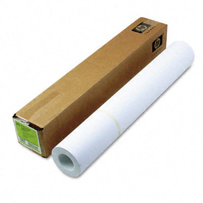 HP Heavyweight Coated Paper - A1-24amp;quot; x 100' - 35lb - Matte - 90 ISO Brightness - 1 Roll - White