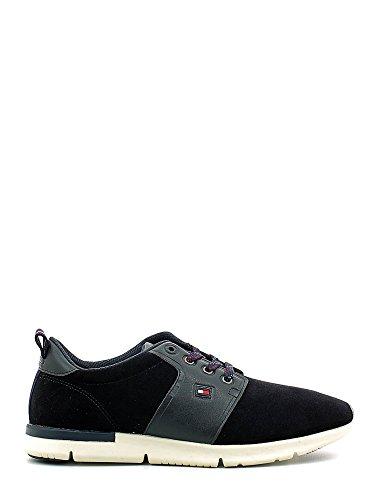 Tommy Hilfiger Fm56822130 Chaussures à lacets hommes Bleu, Taille 42
