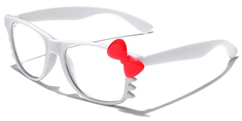 Hello Kitty Kids Baby Toddler Clear Lens Sunglasses Age up to 4 years- White