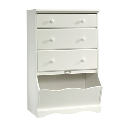 Sauder Pogo 3-Drawer Chest, Soft White Finish by Sauder