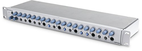PreSonus HP60 6-channel Headphone Amp with Independent Mix Control and 1 Year Free Extended Warranty
