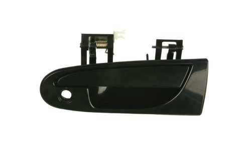 Black Outside Driver Side Replacement Door Handle