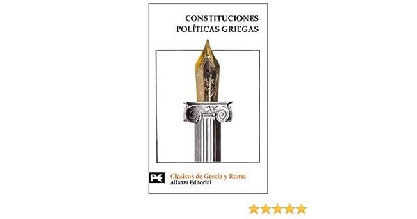 Constituciones políticas griegas: Aristóteles, El Viejo Oligarca ...