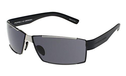 Porsche Design Gafas de sol P8407 - B: Plata mate, brazos ...