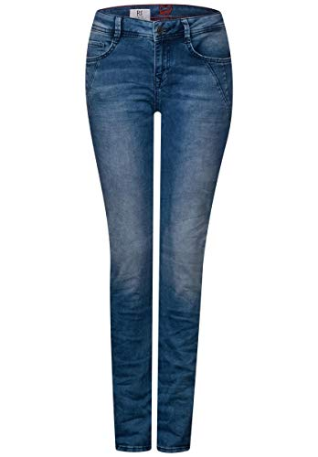 One Overdyed Slim Para Vaqueros Blue Street Bleached Mujer dAqFdf