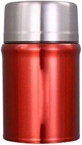 ステンレス鋼食品魔法瓶ポータブル屋外お粥カップ真空断熱お弁当箱食器紫1000 ml