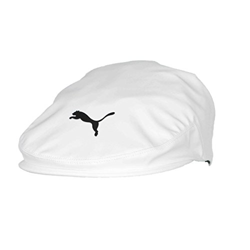 Puma Golf 2017 Men's Tour Driver Cap (Bright White-Black, Small/Medium) Puma Woven Cap